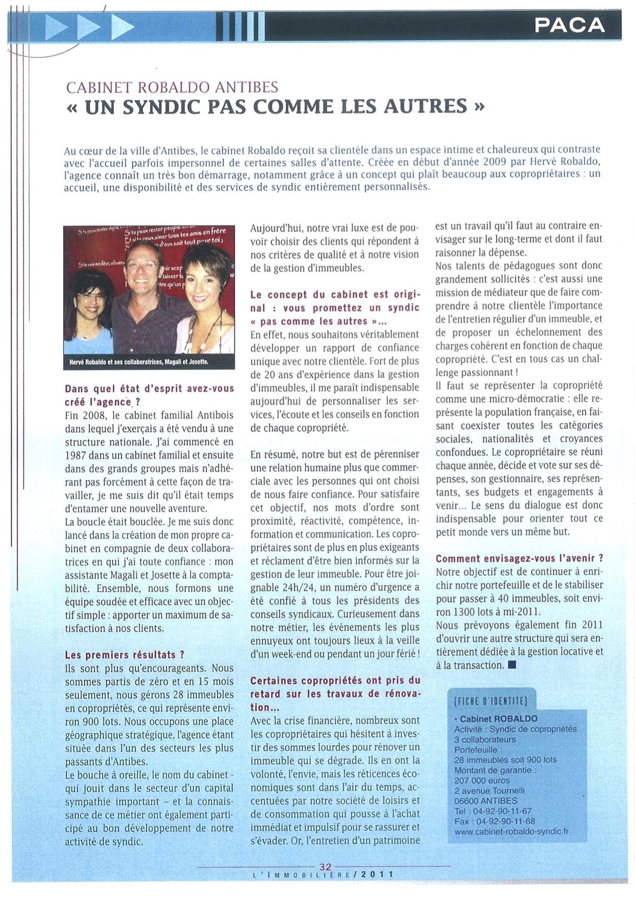 AGIRA Revue Presse 2011